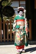 Geisha entre Sannezaka et Ninenzaka - Kyoto