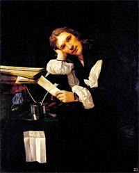 Michael Sweerts - Portrait d\'un jeune homme (1656)