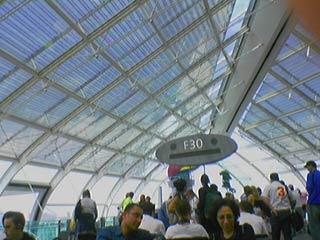 Aéroport CDG au départ pour Madrid