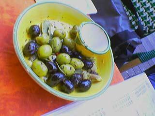 Olives en apéro...