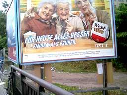 Berlin - pub pour les clopes