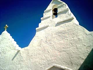 Chapelle dans le centre de Mykonos