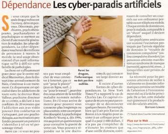 Cyberdependance - Le monde informatique