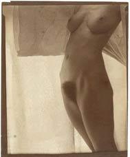 Georgia O'Keeffe nue par Alfred Stieglitz