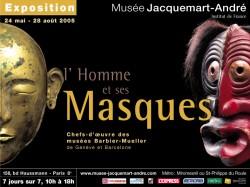 L\'Homme et ses masques - Musée Jacquemart-André