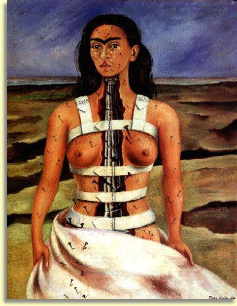 Frida Kahlo - autoportrait