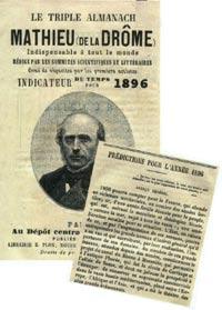 Mathieu de la Drôme - Almanach de prévision météorologique