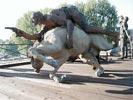 Ousmane Sow sur le Pont des Arts - 1999 - Little Big Horn