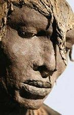 Ousmane Sow - visage Masaï