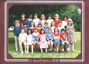 Photo de groupe de CE1