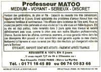 Professeur Matoo