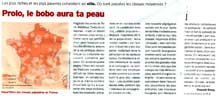 Prolo, le bobo aura ta peau - Télérama N°2852 - 8 septembre 2004
