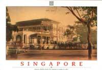 Carte postale de Singapour d'un inconnu
