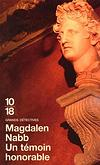 Un témoin honorable - Magdalen Nabb