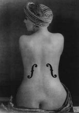 Violon d\'Ingres - Man Ray