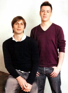 Xavier Héraud et Charles Roncier (respectivement de gauche à droite)