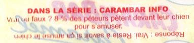 Blague Carambar beauf
