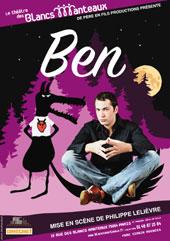 Ben, son premier one man show au théâtre des Blancs Manteaux