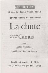 « La Chute » d'Albert Camus