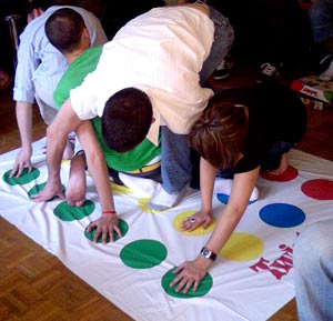 Twister chez Gonzague