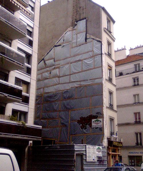 Immeuble fantôme rue St Maur - 75011