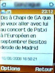 SMS de Tac Tac