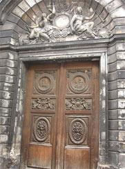 Porte aux méduses de la rue vieille du temple