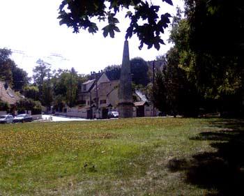 Vue de l'Obélisque de la vallée