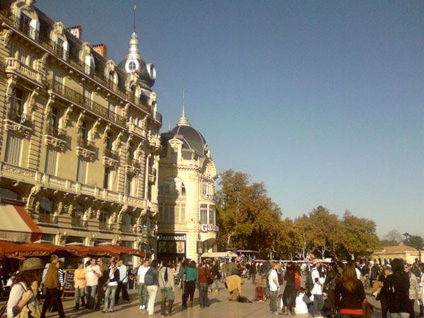 Place de la Comédie - Montpellier - Automne