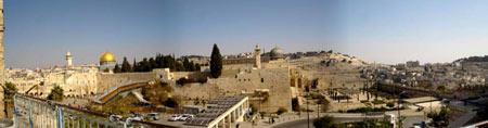 Panorama de Jérusalem