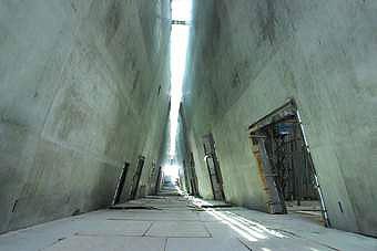 Yad Vashem,  musée de l'Holocauste à Jérusalem