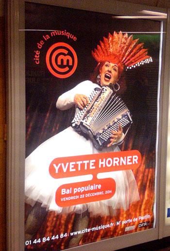 Yvette Horner à la Cité de la musique