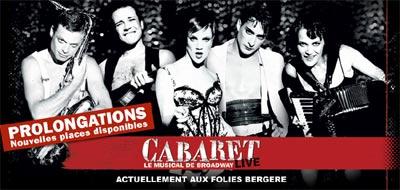 « Cabaret » aux Folies Bergère