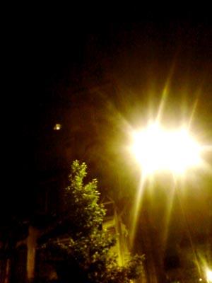 Les lumières de la ville