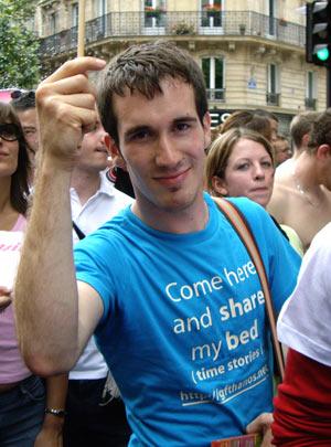Gay pride 2007 - Thanos