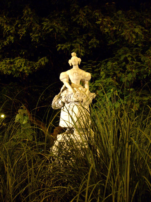 Grisette des faubourgs, la nuit