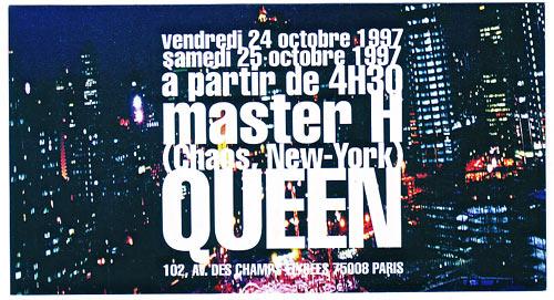 Master H au Queen - 1997
