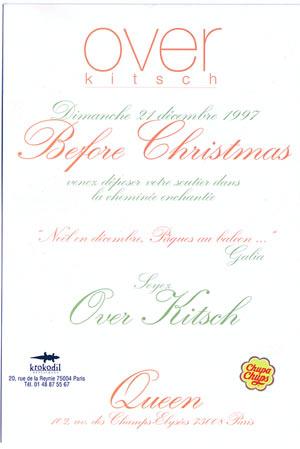 Soirée OverKitsch au Queen - 1997