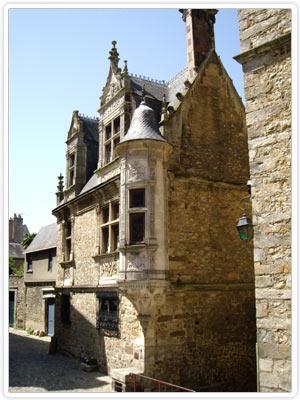Maison Saint Paul, près de la cathédrale - Le Mans.