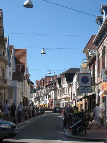 Rue principale du Touquet