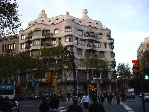 Immeuble La Pedrera à Barcelone