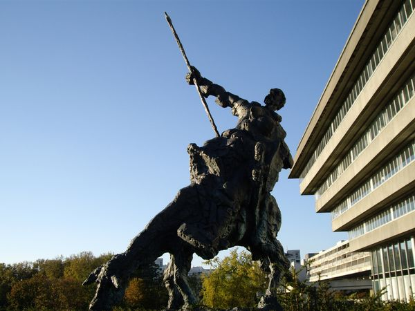 Don Quichotte à Cergy