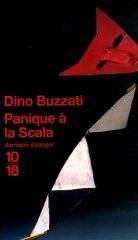 Panique à la Scala - Dino Buzzati
