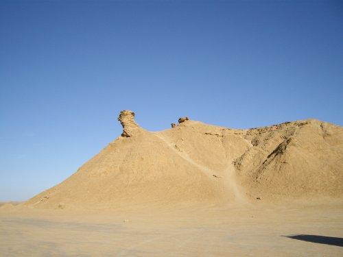 Désert tunisien - le cou du chameau
