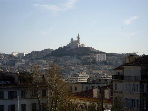 Marseille, vue de la gare Saint Charles