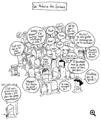 La théorie des forums