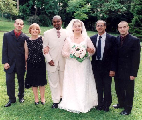 Mariage de ma cousine en 2003.