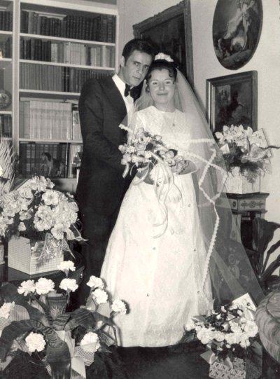 Mariage papa et maman en 1973