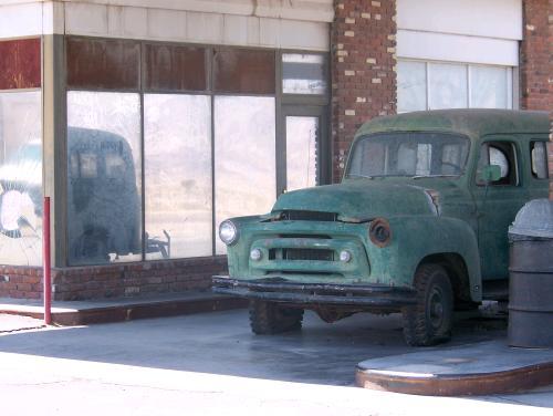 Une voiture à Ludlow