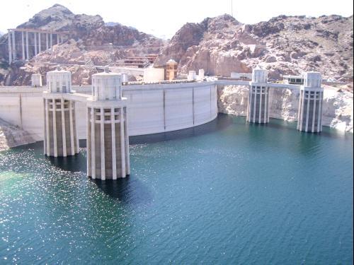 Hoover Dam sur le Colorado